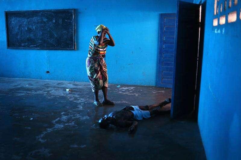 John Moore: Ebola Overwhelms Liberian Capital