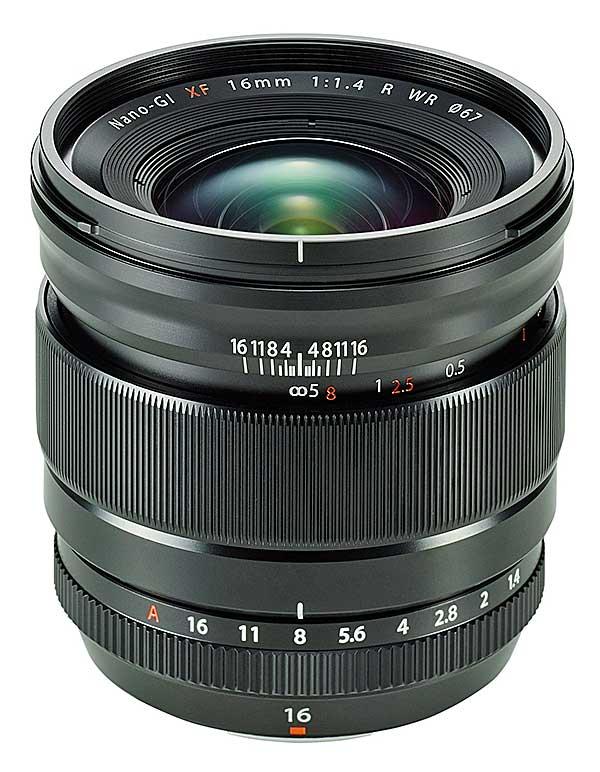 Az új Fujifilm objektív, az XF 16 mm F:1,4 R WR, fényerős nagylátószögű lencse