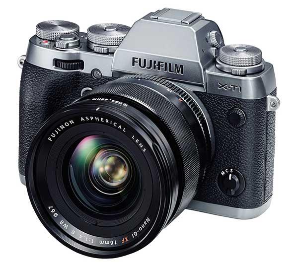 A Fujifilm X-T1 digitális fényképezőgép új kiegészítője a Fujifilm XF 16 mm F:1,4 R WR objektív.