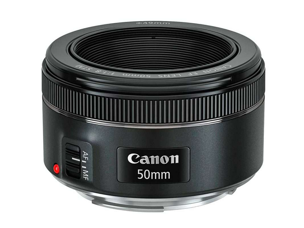 Az új Canon EF 50 mm F:1,8 STM objektív