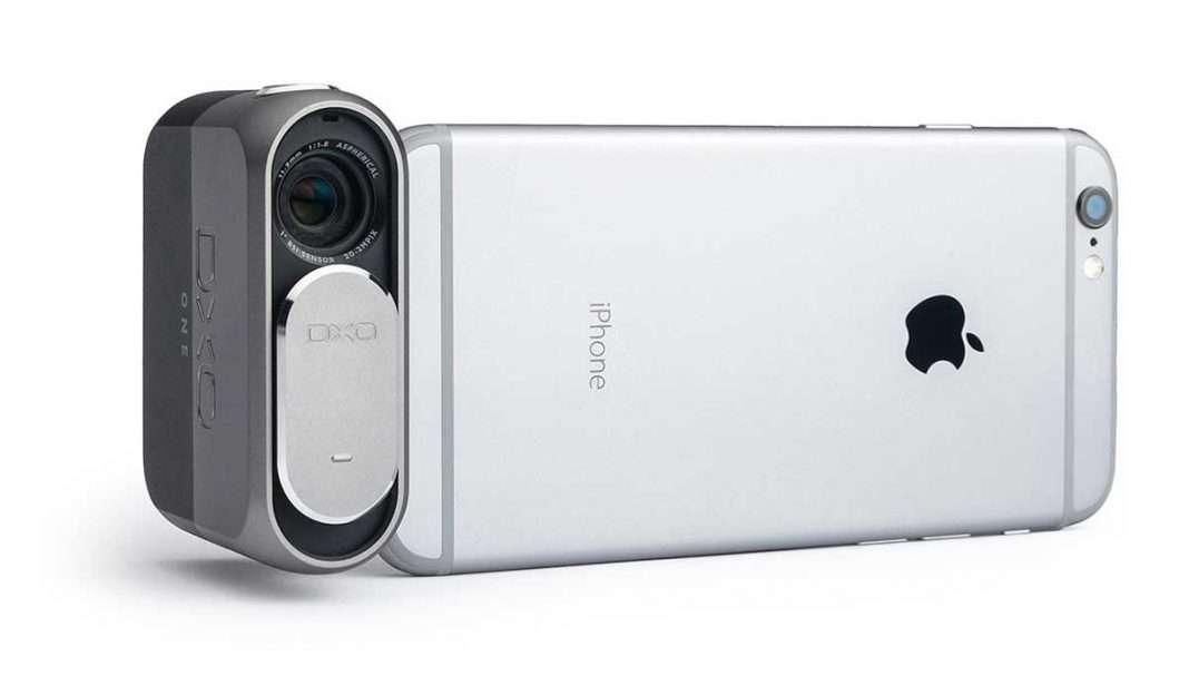 DxO ONE digitális fényképezőgép iPhone-hoz