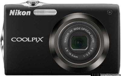 Beépített vaku kompakt fényképezőgép elejébe