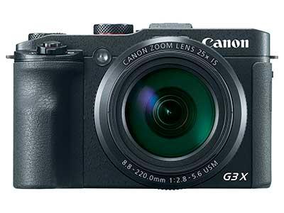 Canon G3 X prémium kompakt digitális fényképezőgép szemből