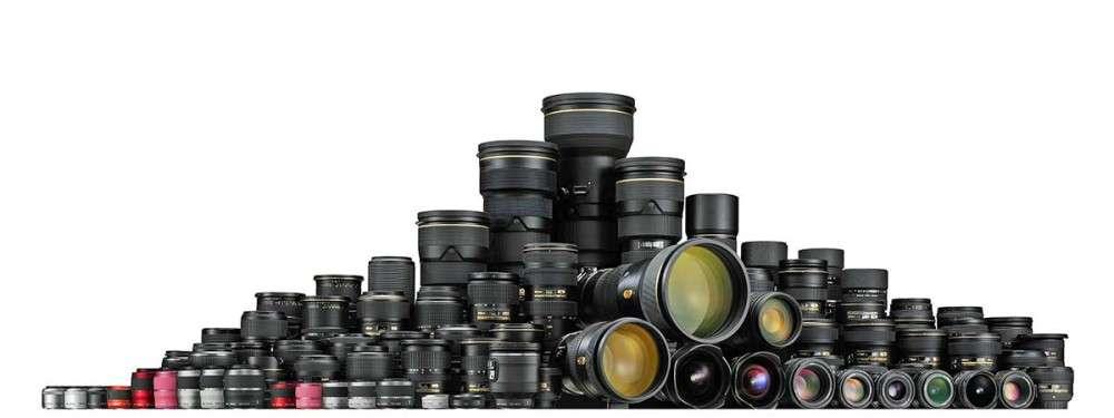 95 millió Nikon objektív, illusztráció