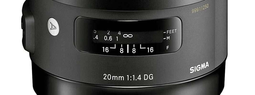 Fotopiac Hu Sigma 20 Mm F1 4 Nagylatoszogu Objektiv Art Nagy