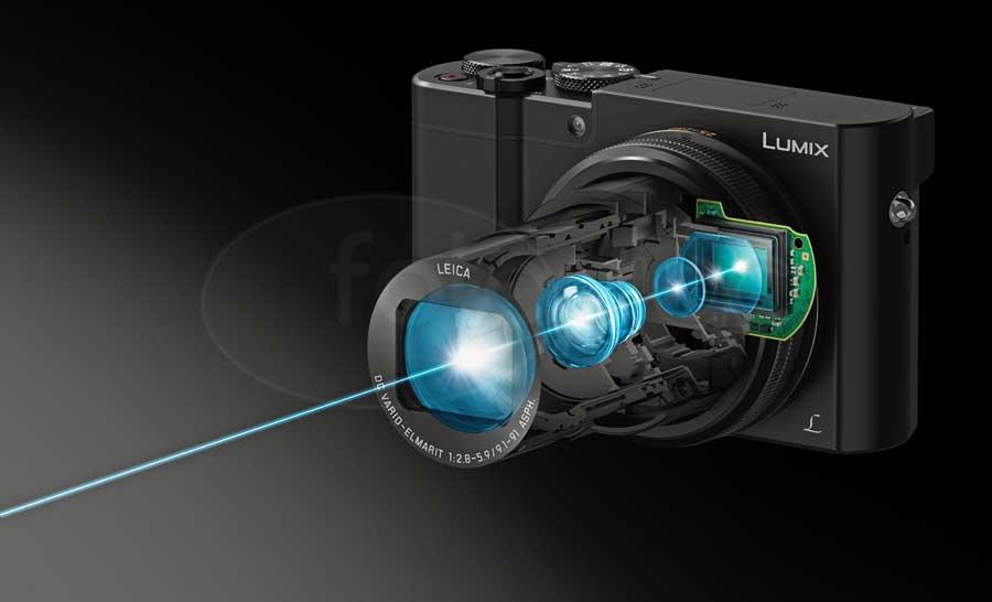 Panasonic Lumix DMC-TZ100 digitális kompakt fényképezőgép röntgenképe