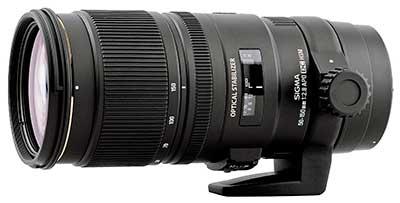 Fényképezőgép objektív választás, a Sigma 50-150 mm F:2,8