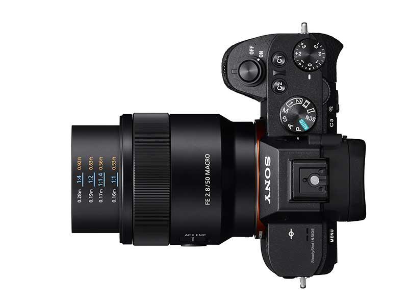 Sony FE 50 mm F2,8 makró objektív