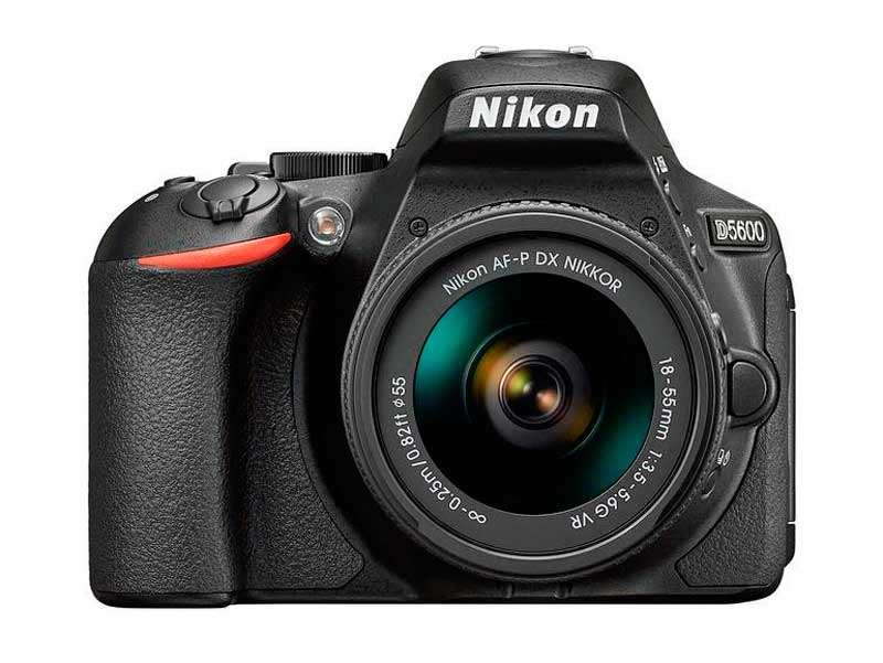 Dx Formátumú Nikon D5600 Digitális Fényképezőgép