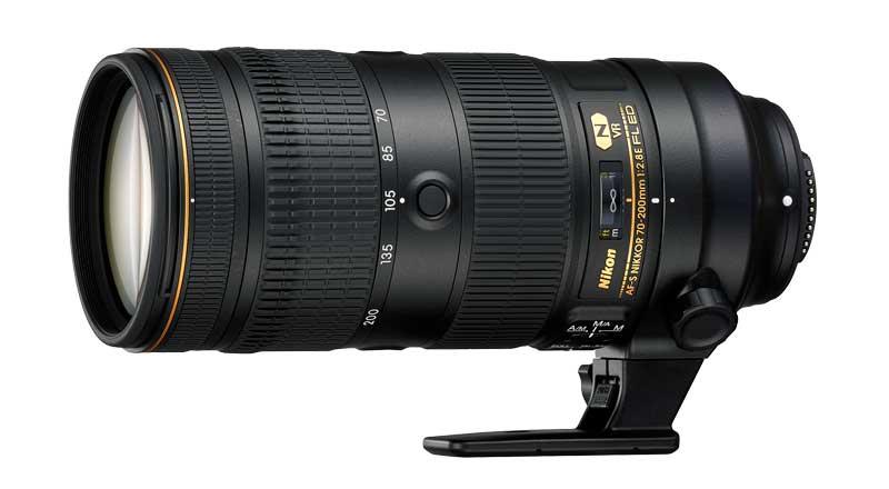 AF-S Nikkor 70-200 mm f/2,8E FL ED VR objektív