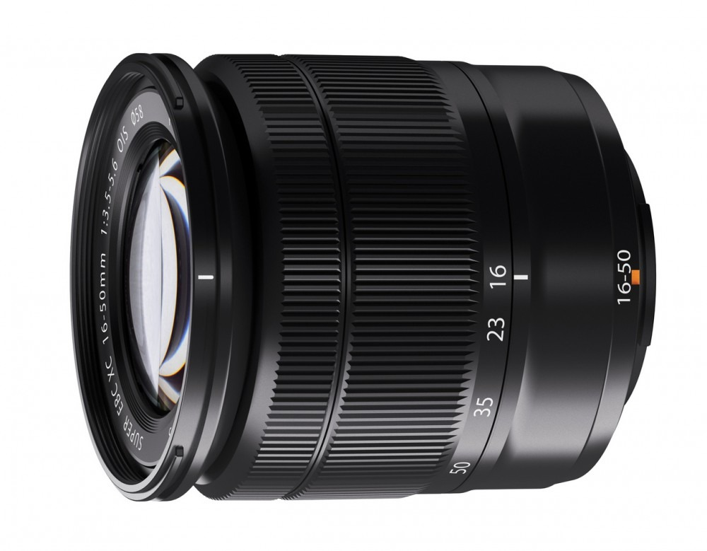Lens 16 50mm Black Front Small