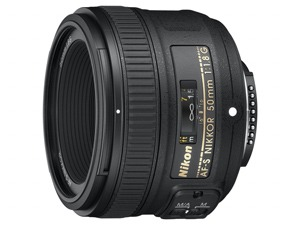 Nikkor Afs 50mm F18 G Small
