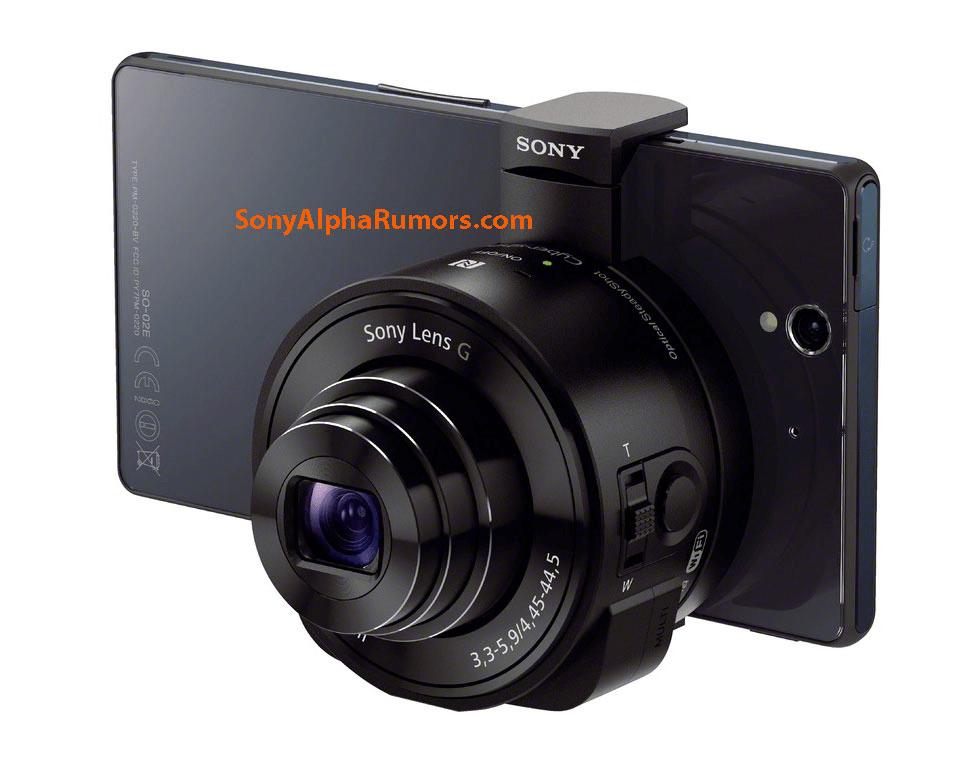 Sony DSC-QX10 és DSC-QX100 kiszivárgott termékfotók