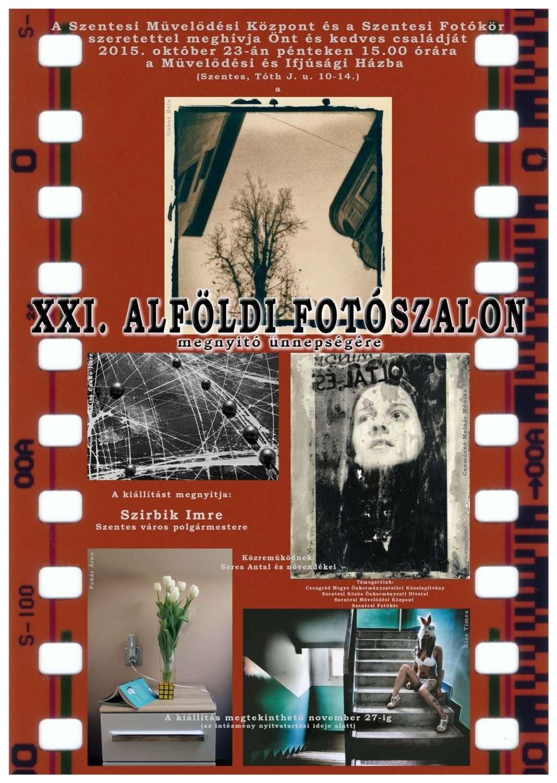 Alföldi Fotoszalon Plakat Fototvhu