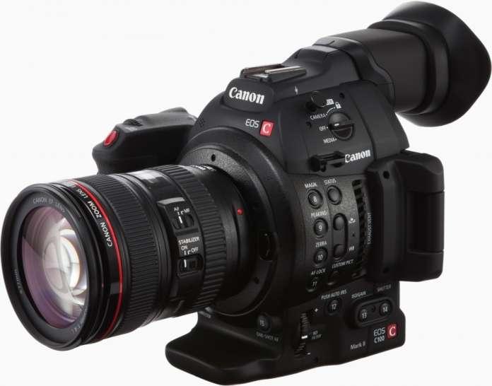Canon Eos C 100 Mark Ii Fototvhu