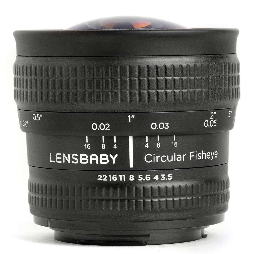 Lensbaby 5.8mm Circular Fisheye Fototvhu