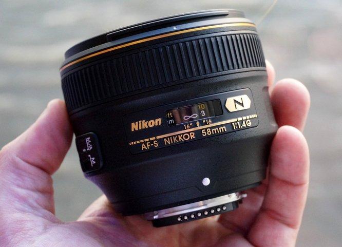 Nikkor Af S 58mm F 1 4 G Fototvhu