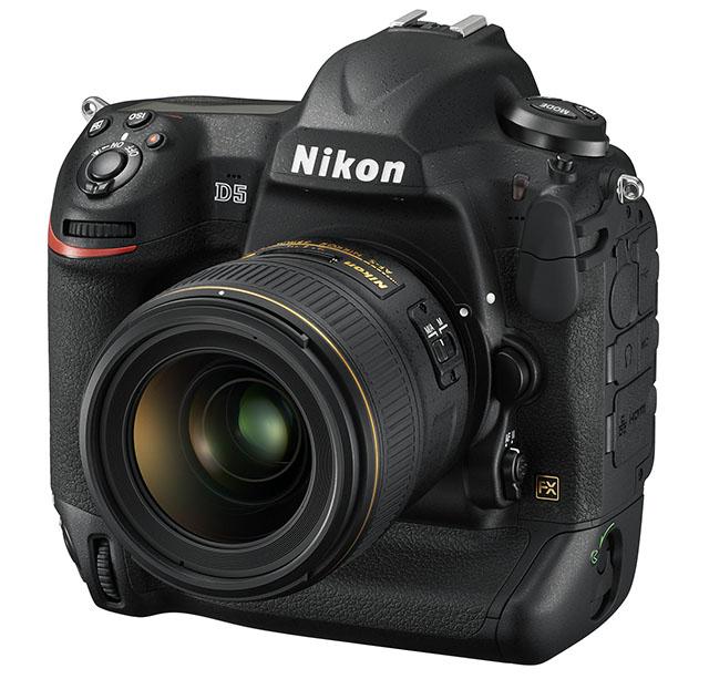 Nikon D5 Front Fototvhu