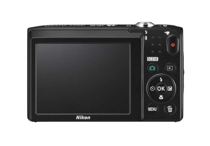 Nikon Coolpix S2900 Back Fototvhu