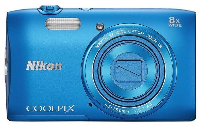 Nikon Coolpix S3600 Front Fototvhu