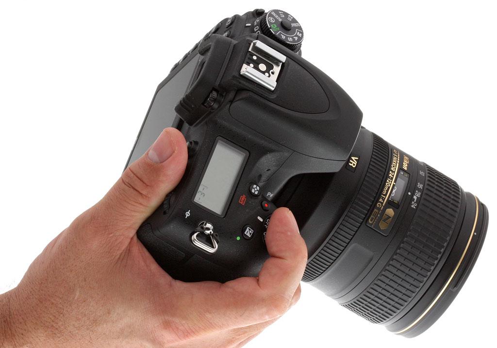 Nikon D750 Inhands Fototvhu