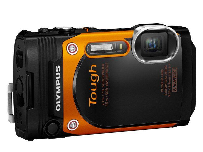 Olympus Toug Tg860 Orange Fototvhu