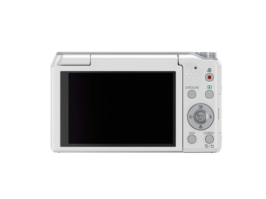 Panasonic Lumix Tz55 White Back