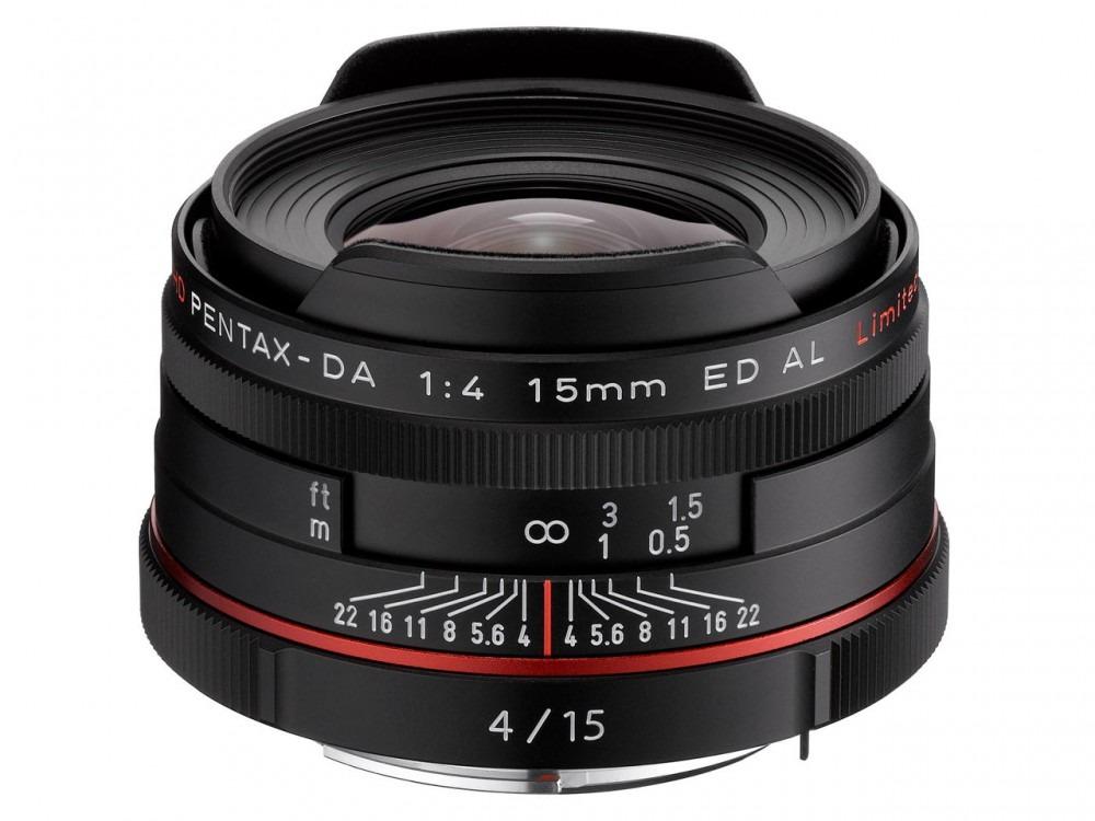 Pentax Da 15mm F4 Black Fototvhu