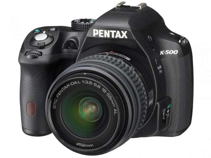Pentax K500 Front Fototvhu