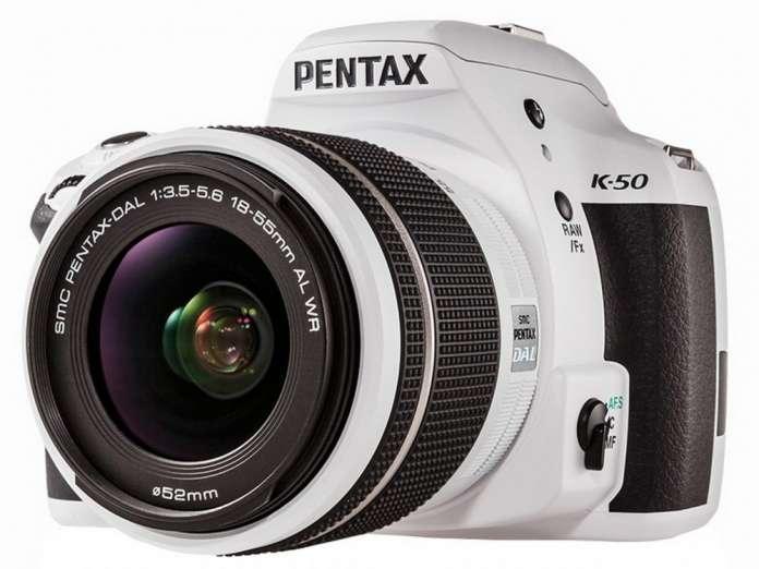 Pentax K50 White Fototvhu