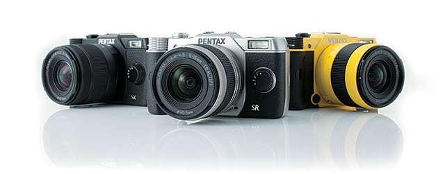 Pentax Q7 3 Colors Fototvhu