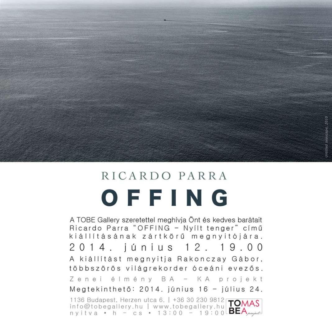 Ricardo Parra Offing Fototkiallitas