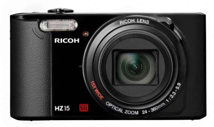 Ricoh Hz15 Front Fototvhu