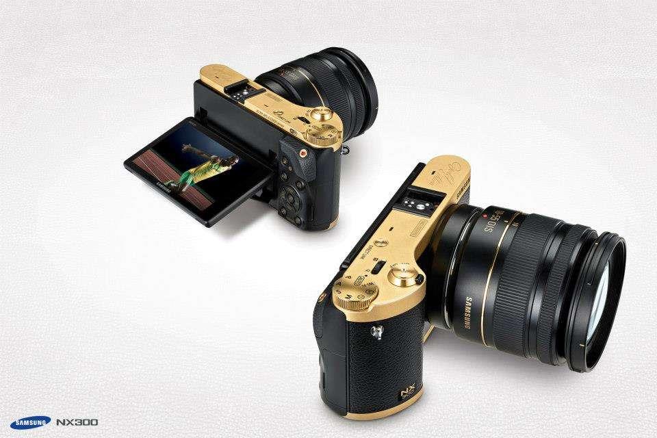 Samsung Gold Special Edition Nx300 Fototvhu