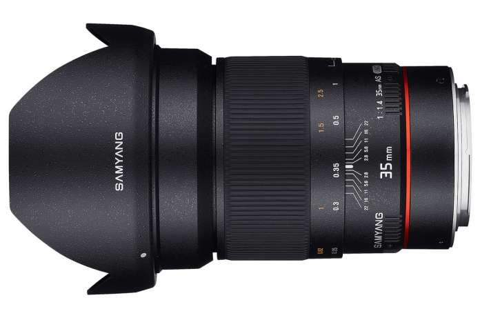 Samyang 35mm F1.4 Asumc Fototvhu