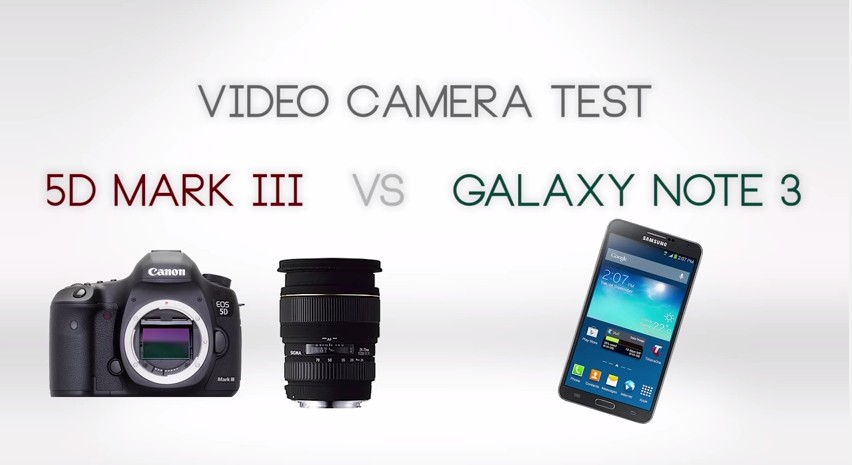 Video Camera Test Fototvhu