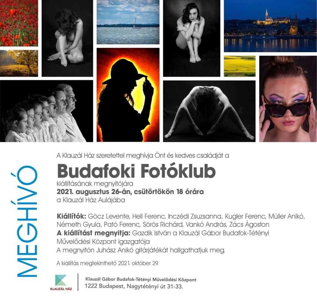 A Budafoki Fotóklub kiállítása a Magyar Fotográfia Napja alkalmából – 2021