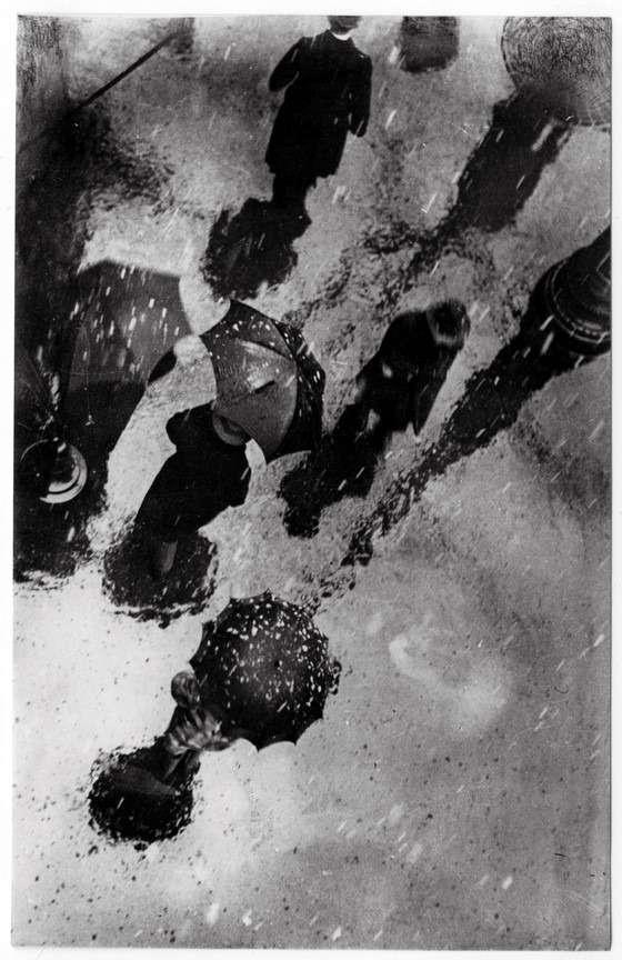 Fotó: Escher Károly: Havaseső, 1928 © Magyar Fotográfiai Múzeum