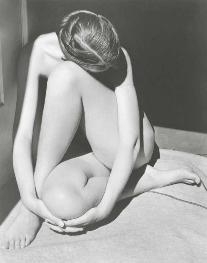 Fotó: Edward Weston: Akt (Charis, Santa Monica), 1936
