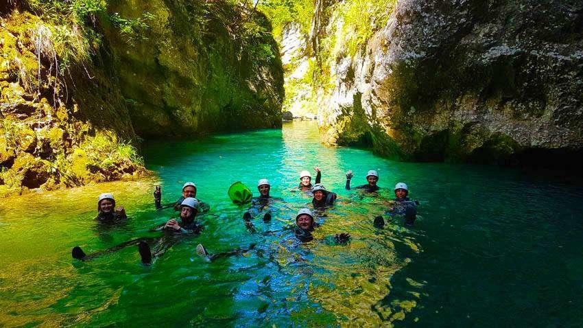 Kanyoning a Garda-tónál – Igazi frissítő kaland Olaszországban