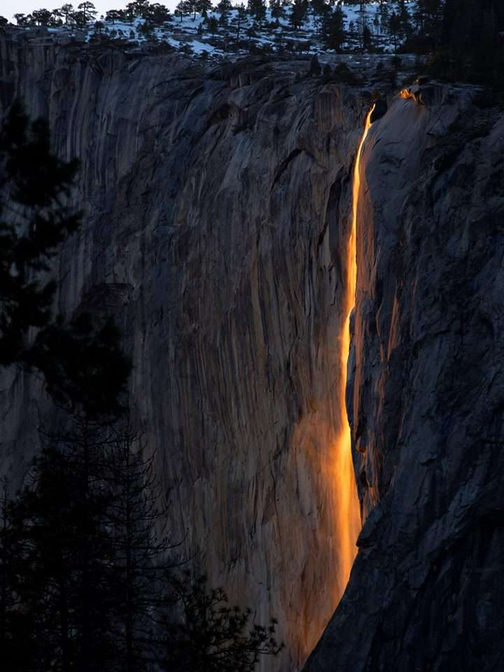 Yosemite Horsetail Fall Photo Workshop