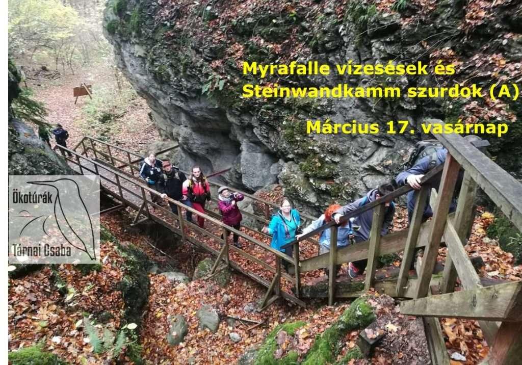 Myrafalle vízesések és Kőfal szurdok évadnyitó túra, Ausztria