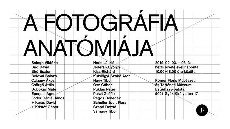 A fotográfia anatómiája – kiállításmegnyitó