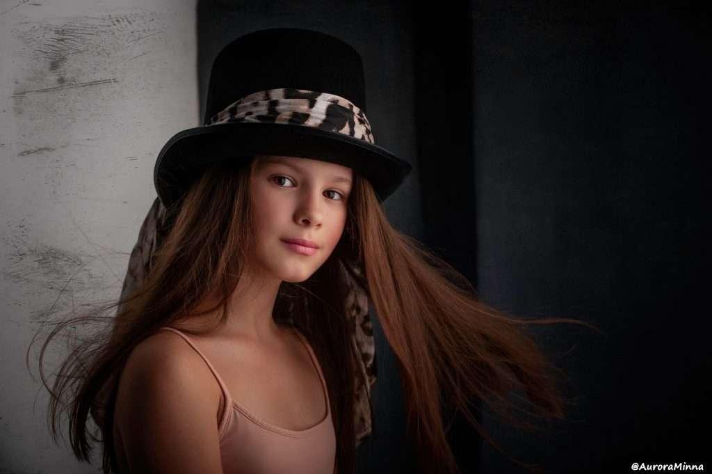 Gyermek Portré Fotózás Stúdióban + Online Photoshop Retusálás