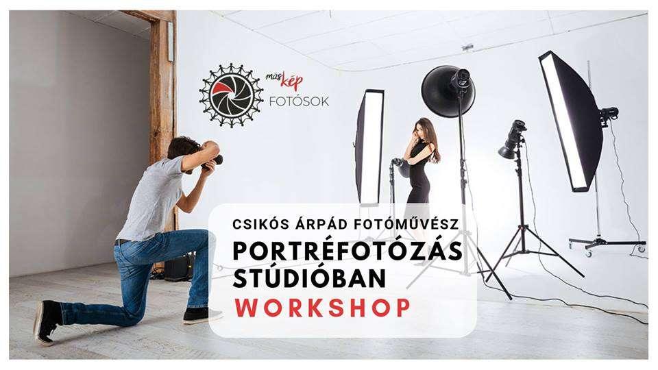 Portréfotózás Stúdióban Workshop