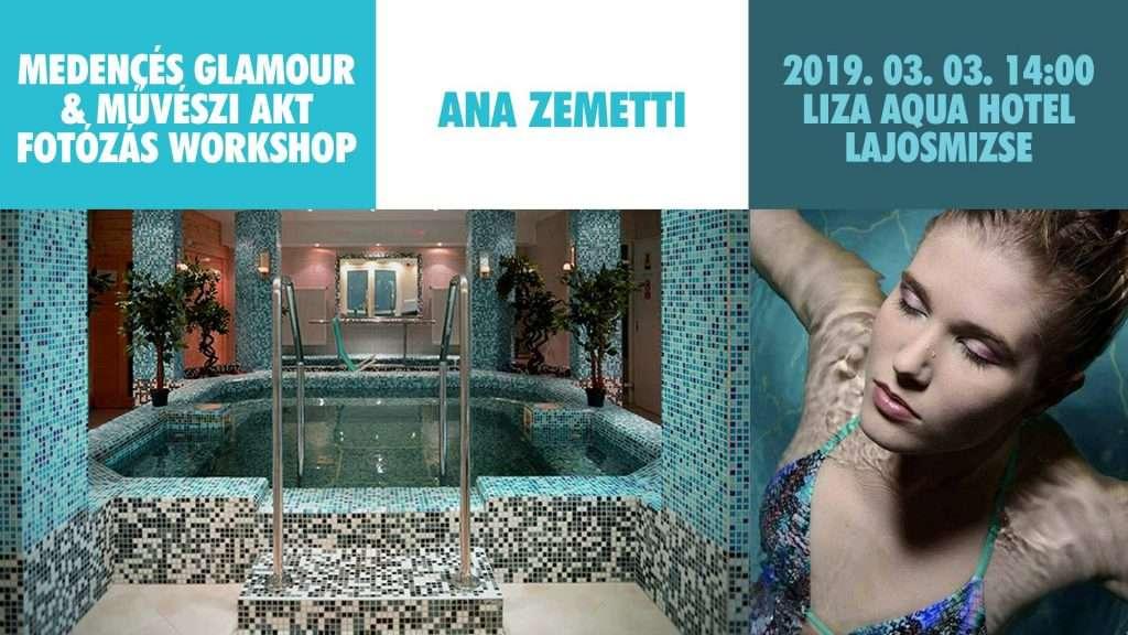 Medencés Glamour & Művészi Akt Fotózás Workshop