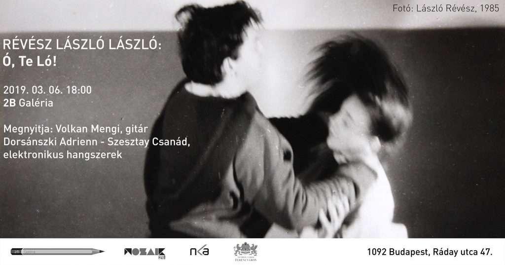 Révész László László: Ó, Te Ló! kiállításmegnyitó