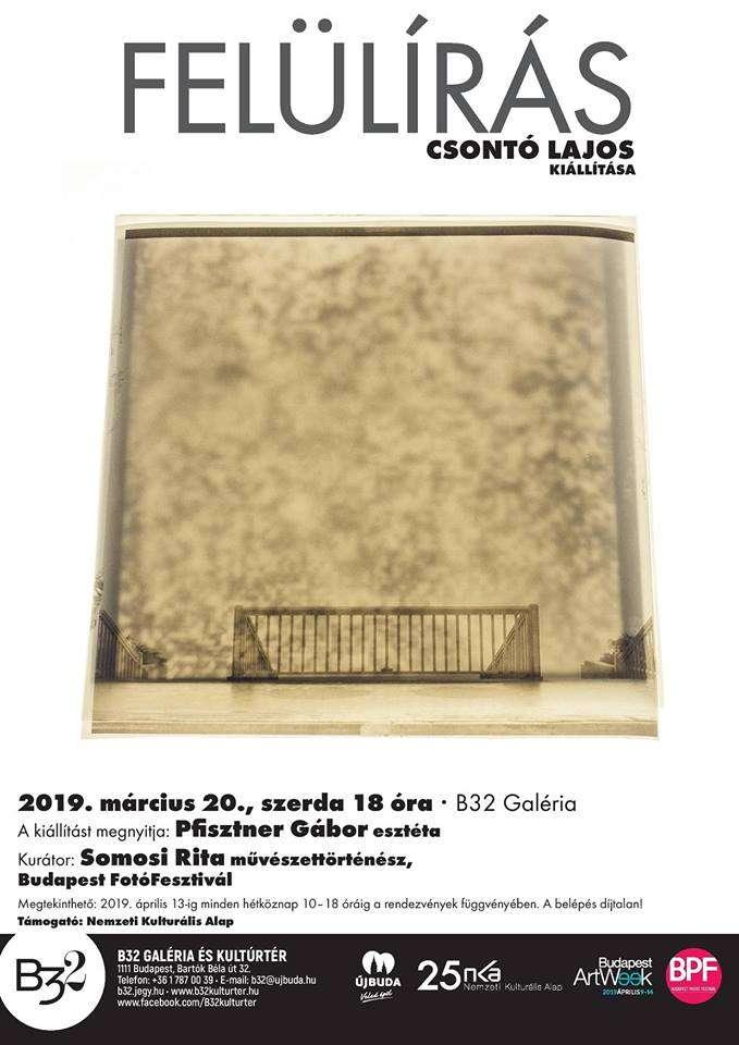 Csontó Lajos kiállítása a B32 Galériában