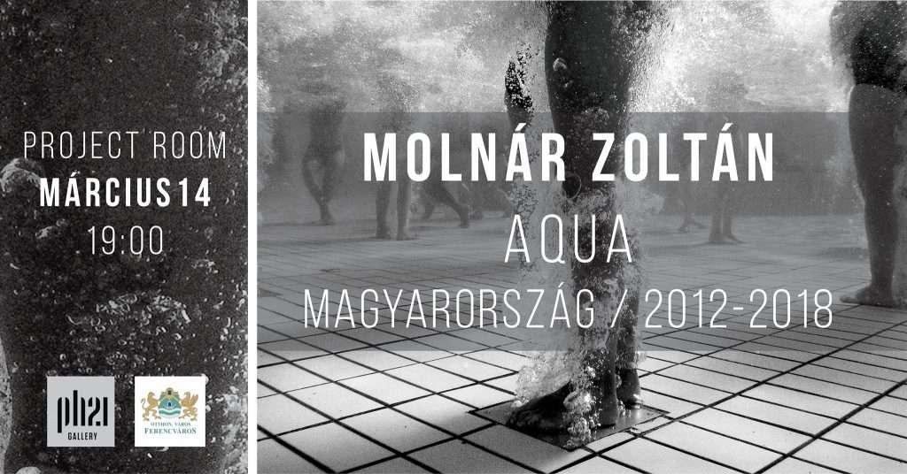 Molnár Zoltán :: Aqua :: Project Room :: megnyitó
