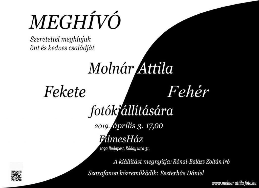 Molnár Attila: Fekete-fehér fotókiállítás